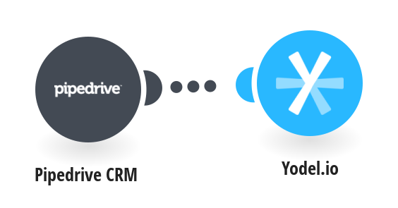 Create or update Yodel.io contacts from Pipedrive