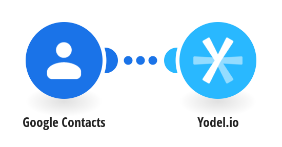 Create or update Yodel.io contacts from Google Contacts
