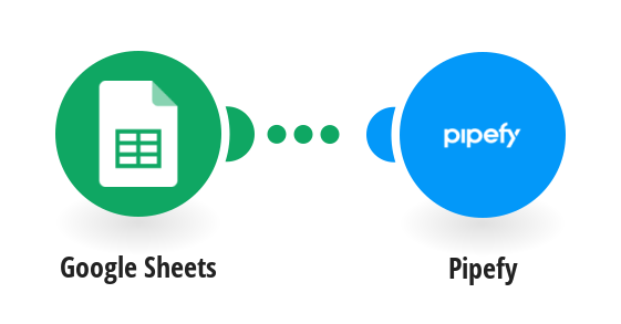 Create Pipefy cards from new Google Sheets rows