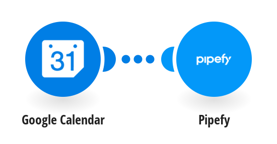Create Pipefy cards new Google Calendar events