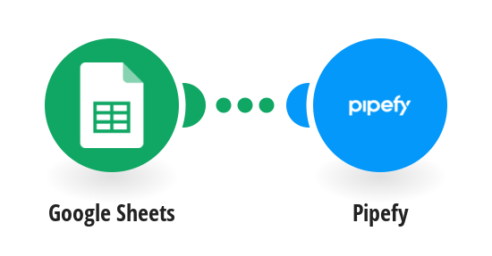 Create Pipefy table records from new Google Sheets rows