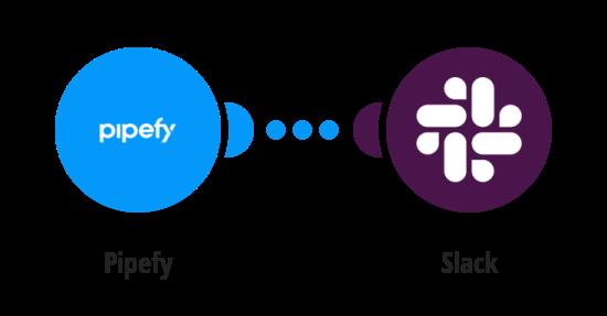 Send Slack messages for new Pipefy cards