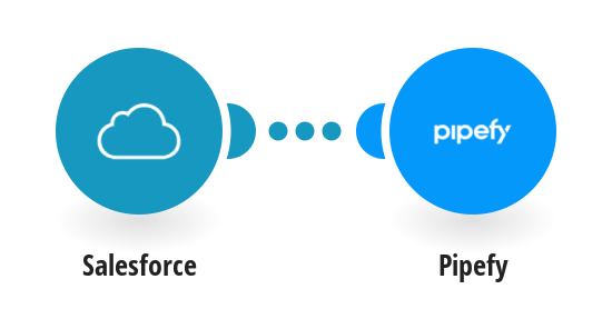 Create Pipefy cards from new SalesForce leads