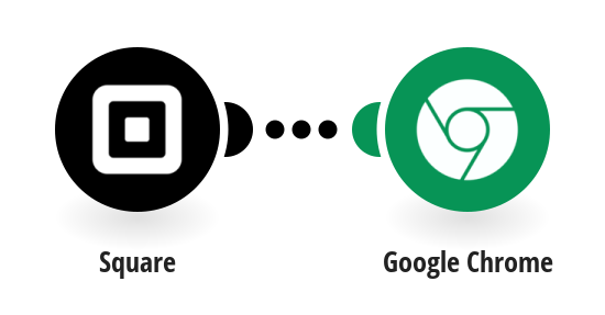 Get Google Chrome notifications for Square transactions matching specified criteria