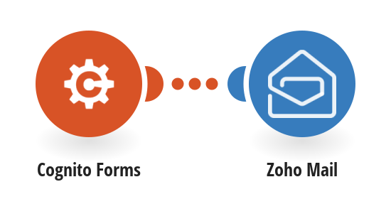 Send Zoho Mail emails for new Cognito Forms entries