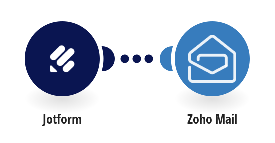Send Zoho Mail emails for new JotForm entries