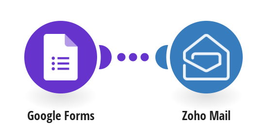 Send Zoho Mail emails for new Google Forms entries