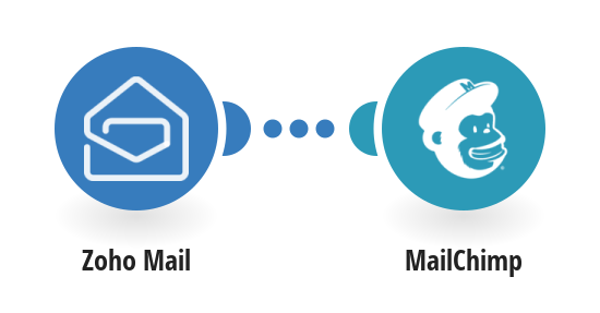 Add MailChimp subscribers from new Zoho Mail emails