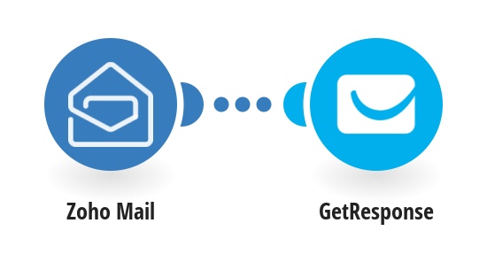 Add GetResponse contacts from new Zoho Mail emails