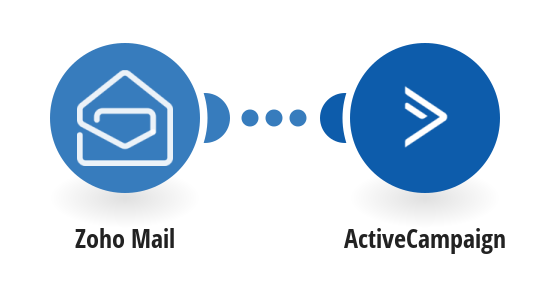 Add ActiveCampaign contacts from new Zoho Mail emails