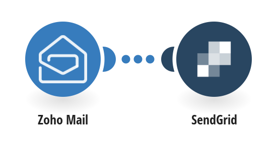 Add SendGrid recipients from new Zoho Mail emails