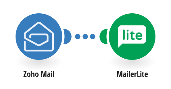 Add MailerLite subscribers from new Zoho Mail emails