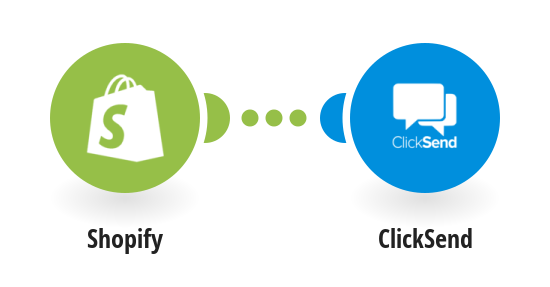 Send ClickSend SMS messages for new Shopify orders