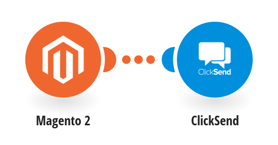 Send ClickSend SMS messages for new Magento 2 orders
