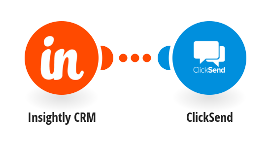Add new Insightly CRM leads to ClickSend