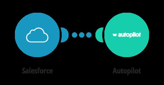 Add new Salesforce customers to Autopilot
