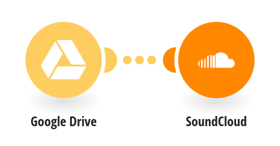 Upload music files from Google Drive to SoundClound