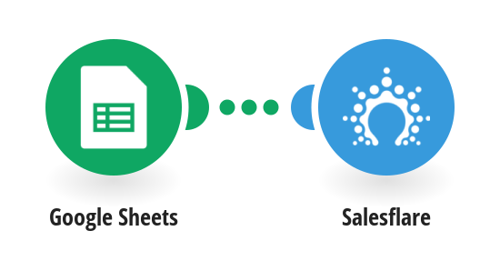 Create Salesflare contacts from new Google Sheets rows