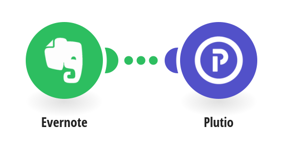 Create Plutio tasks from new Evernote notes