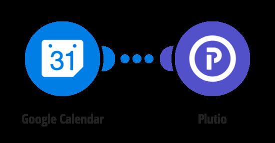 Create Plutio tasks from new Google Calendar events