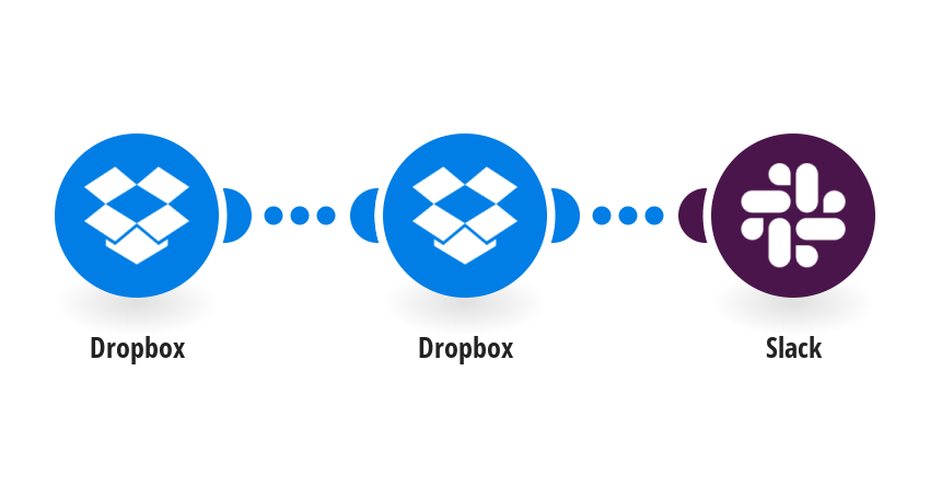 Upload new Dropbox files to Slack