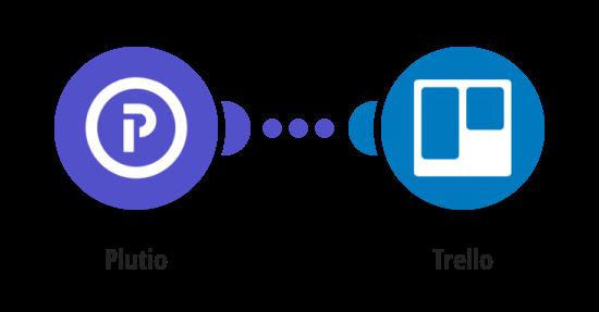 Create Trello cards from new Plutio tasks