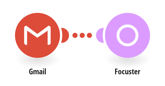 Create a new action in Focuster when a new e-mail in Gmail is received and meets specified criteria