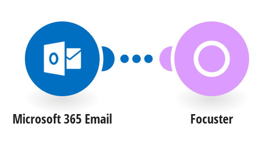 Create a new action in Focuster when a new Office 365 e-mail is received and meets specified criteria