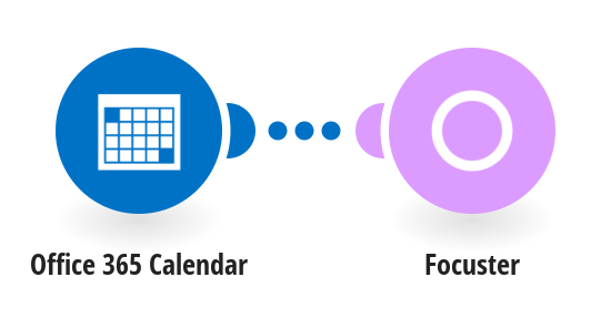 Send a new event from Office 365 Calendar into Focuster
