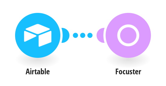 Send a new response from Airtable into Focuster