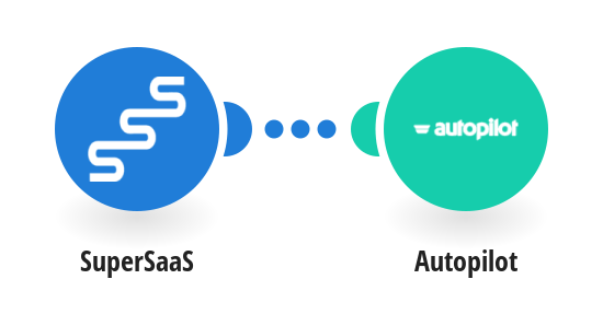 Create a new contact in Autopilot with every new SuperSaaS user