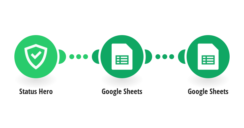 Upload a new member from Status Hero into Google Sheets