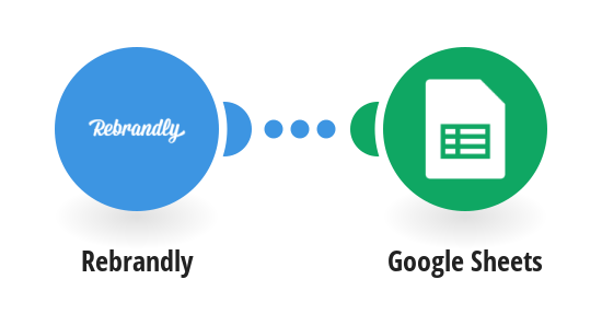 Create a new record about a new branded link from Rebrandly in Google Sheets