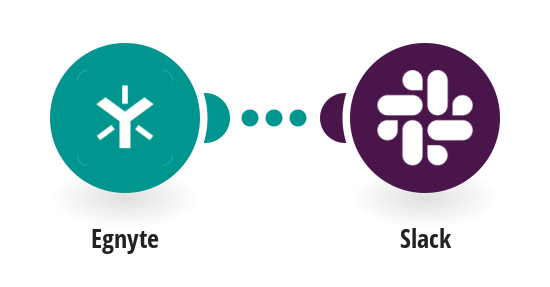 Send notification about a new file in Egnyte to Slack