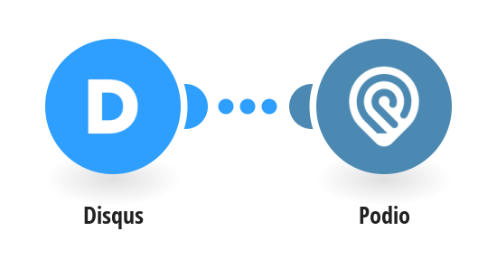 Create Podio tasks from new Disqus threads