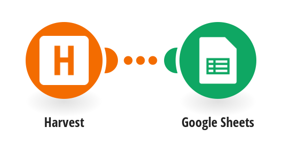 Send a new client in Harvest as a new row to Google Sheets