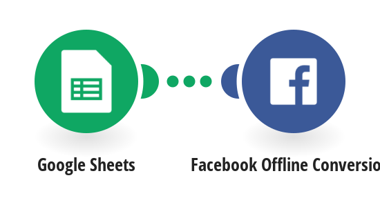 Send new rows with records from Google Sheets to Facebook Offline Conversions