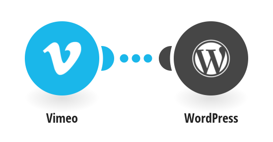 Post on WordPress for new videos on Vimeo