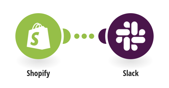 Send a notification about new event in Shopify to Slack