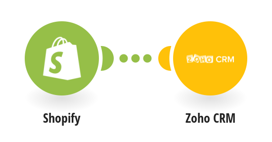 Add new Shopify customer as new contact in Zoho CRM