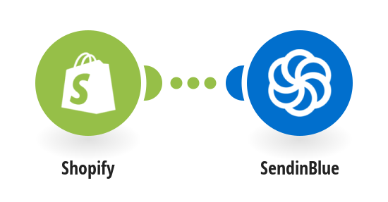Send a new customer in Shopify as a new contact to SendinBlue