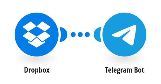 Send Telegram message with notification about a new file in Dropbox