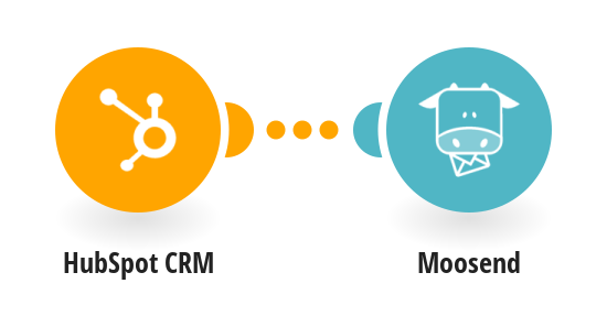 Send a new subscriber Moosend from HubSpot CRM