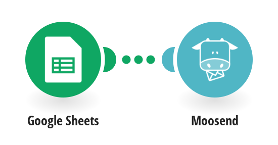 Create a new subscriber in Moosend with data from Google Sheets