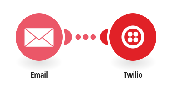 Send Twilio SMS messages for new emails