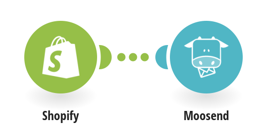 Send new customer in Shopify as a new subscriber to Moosend