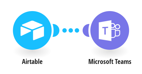 Send a message about a new record in Airtable to Microsoft Teams