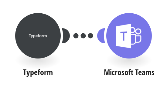 Send a message about a new submitted form in Typeform to MIcrosoft Teams