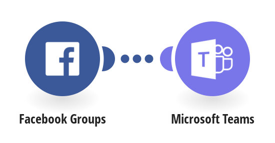 Send a message about a new post in Facebook group to Microsoft Teams