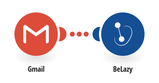 Synchronize BeLazy account upon request from Gmail